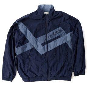 Adidas 90s Vintage Full Zip Jacket Sz L